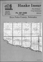 Keya Paha County Index Map 001, Boyd and Keya Paha Counties 1990